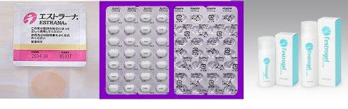 ホルモン充填療法薬剤